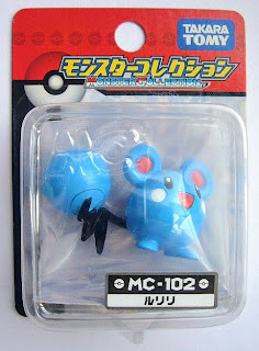 Azurill Pokemon figure Tomy Monster Collection MC series