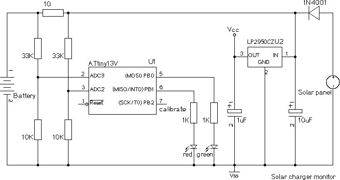 Solar Panel Charge Controller Circuit Diagram Leeson Single Phase Electric Motor Wiring Schematic Diagram: Battery Charger Atmel Attiny13v