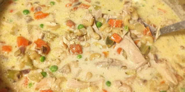 High Protein Slow Cooker Creamy Chicken