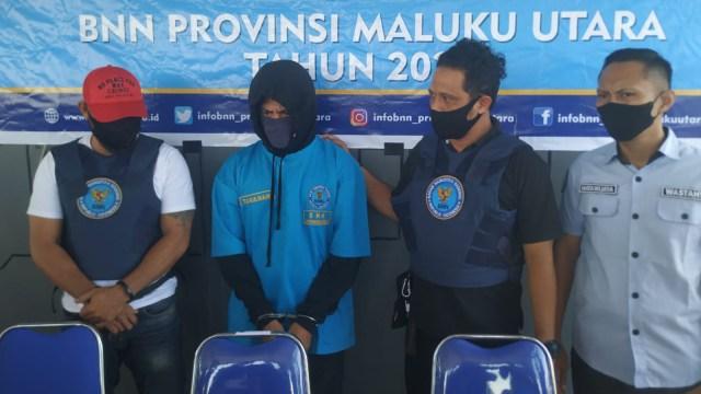Polisi di Maluku Utara Buron Kasus Narkoba Ditangkap BNN