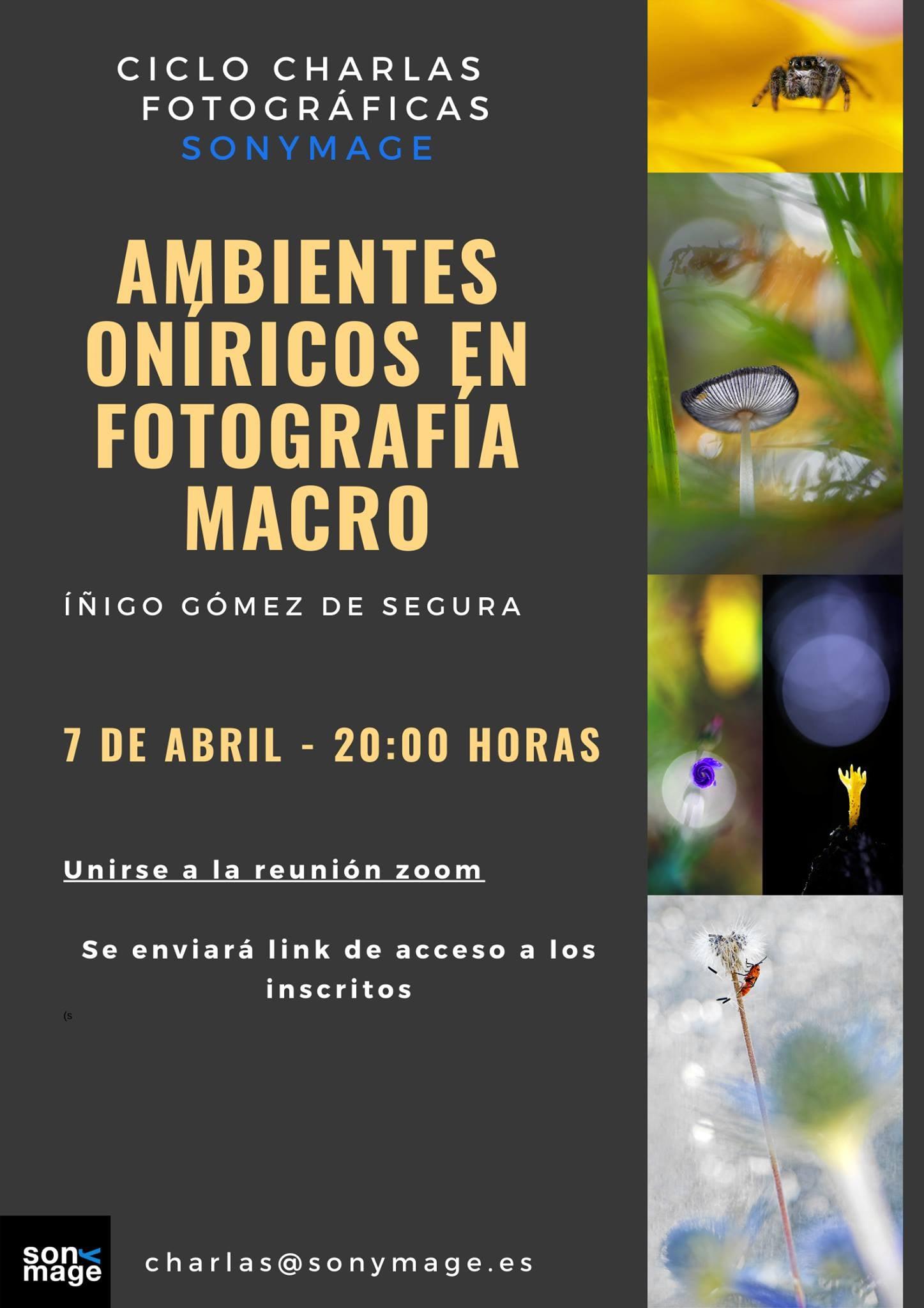 Ambiente Oníricos en Fotografía Macro - Íñigo Gomez de Segura