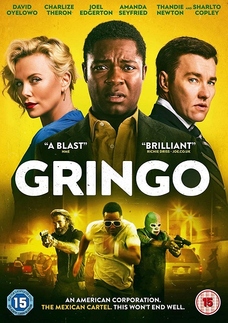 Gringo (2018) 720p HEVC BluRay x265 Esubs [Dual Audio] [Hindi ORG DD 2.0 – English] – 450 MB