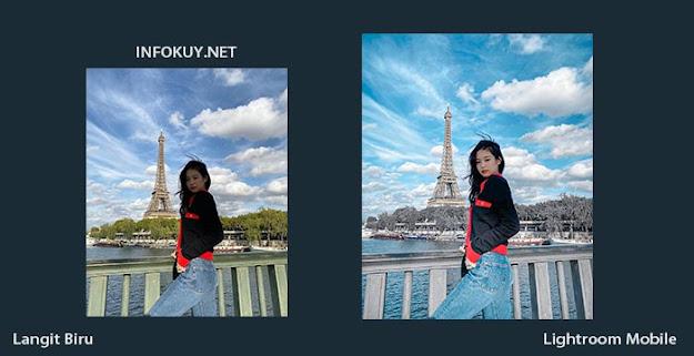 Cara Edit Langit Biru di Lightroom