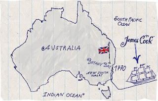 James Cook Australia Trip