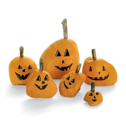 Stone-faced Pumpkins