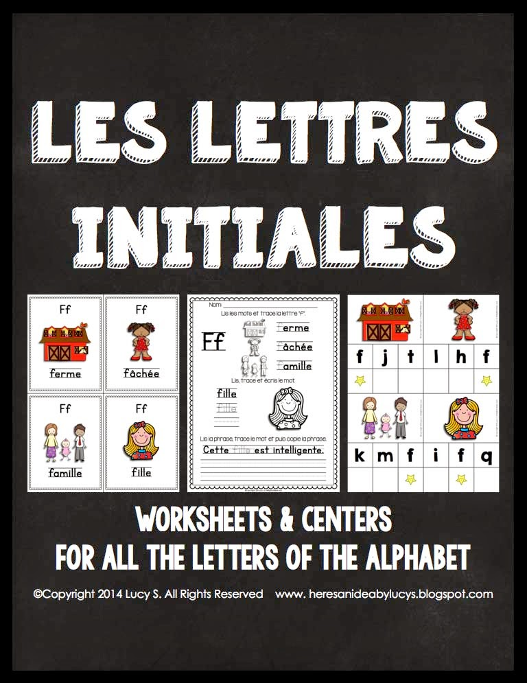 French - Les Lettres Initiales