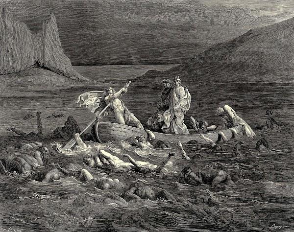 Los círculos del infierno de Dante