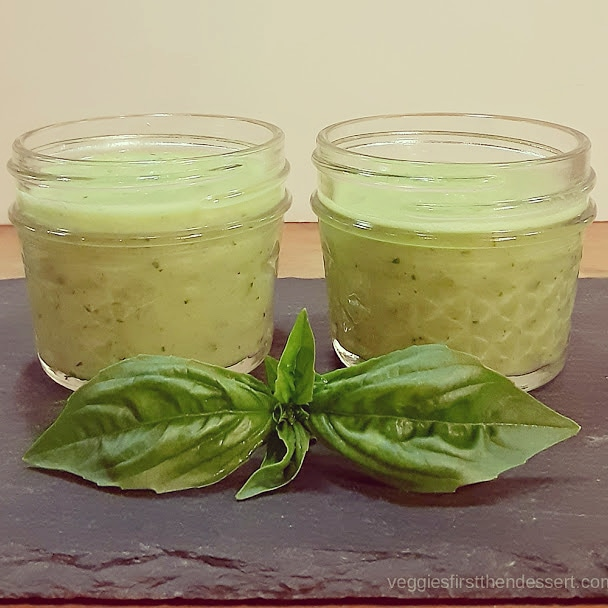 Veggies First Then Dessert - Cucumber Gazpacho