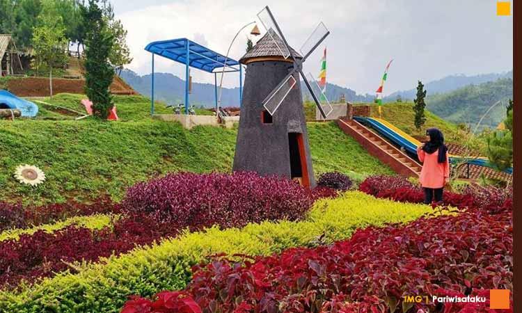 Wisata bandung ala belanda kampung tulip