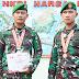 Raih Perak Kempo Kejurnas, 2 Prajurit Korem 143/HO Harumkan Sultra