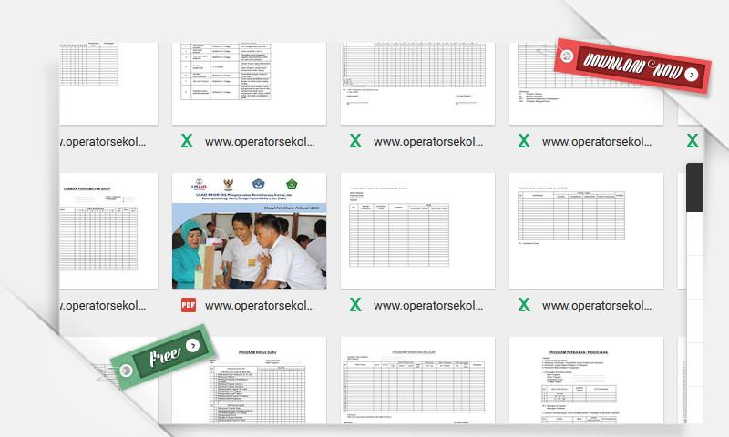 18 Berkas Perangkat Administrasi Guru SMP terbaru 2016 versi Excel