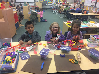 Students in Preppy K centers