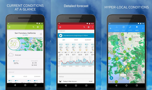 best free android weather app