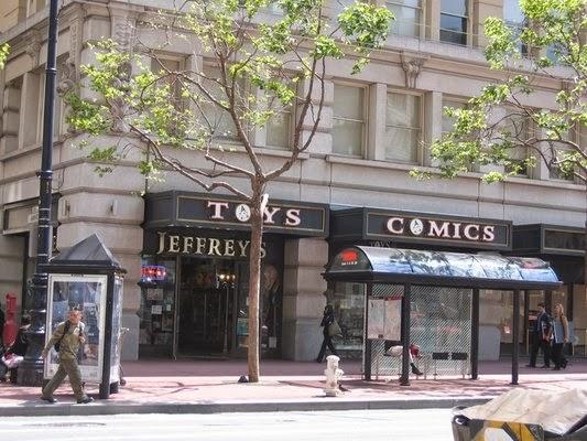 Lojas de brinquedos Jeffreys San Francisco