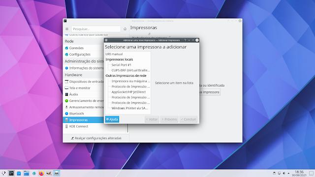 instalando impressoras no Debian 11