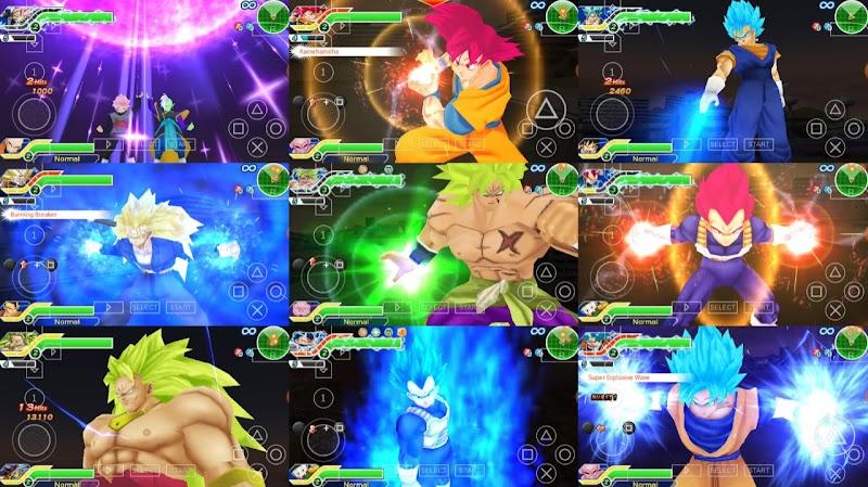 Android PSP Game DBZ Tenkaichi Tag Team Texture Original Mod