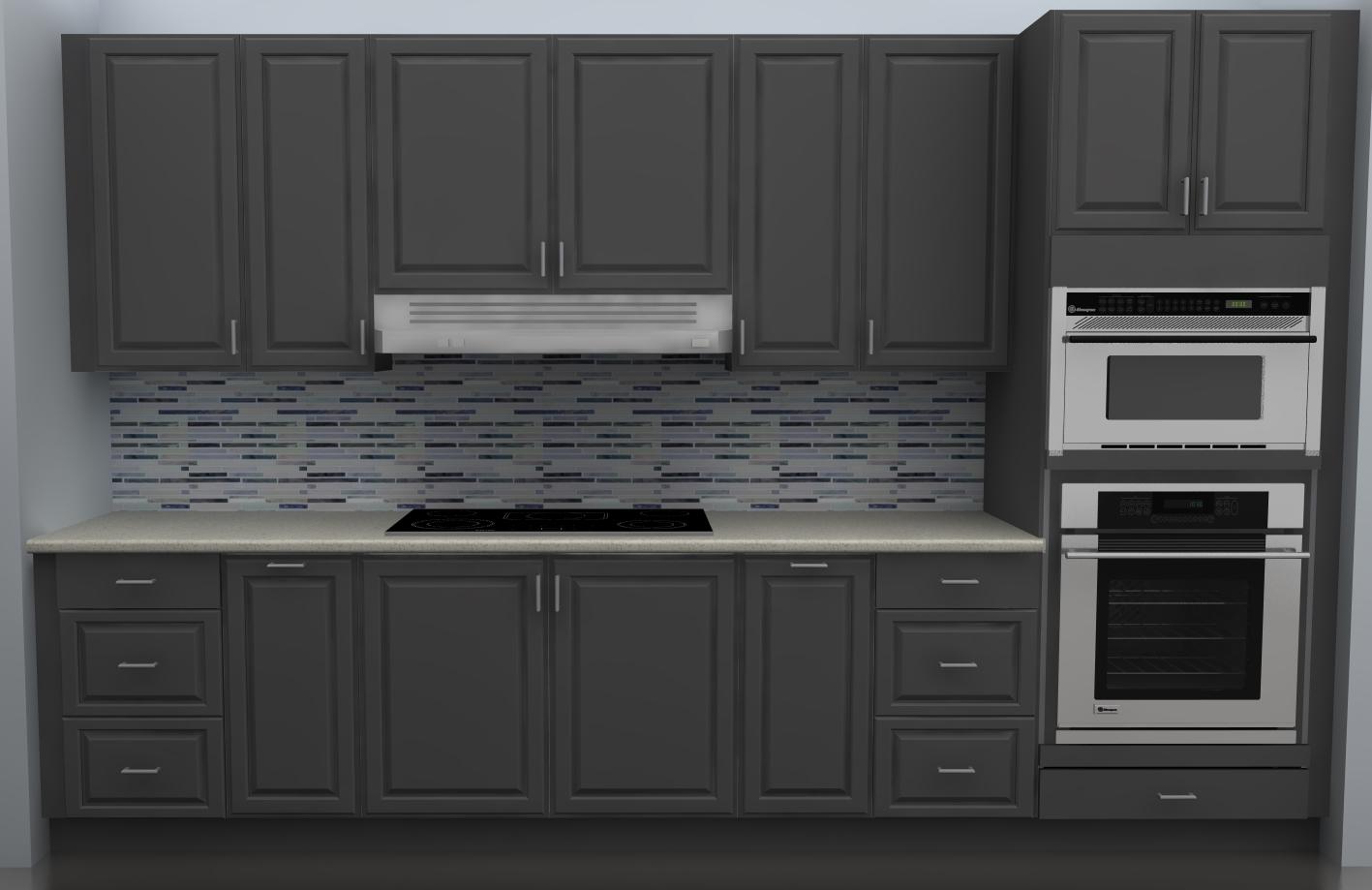Ikea Gray Kitchen Cabinets