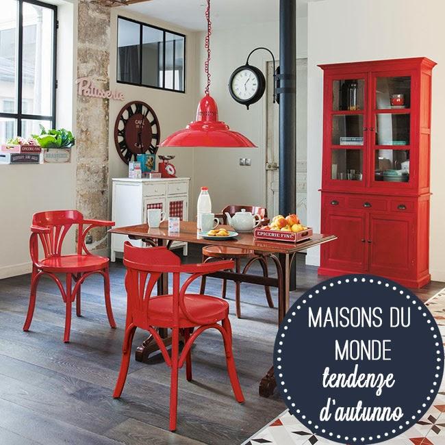le nuove tendenze per l 39 autunno maisons du monde home shabby home arredamento interior craft. Black Bedroom Furniture Sets. Home Design Ideas