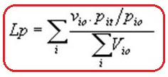Rumus formula Laspeyres
