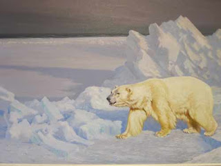Assiniboine Park Polar Bear Art