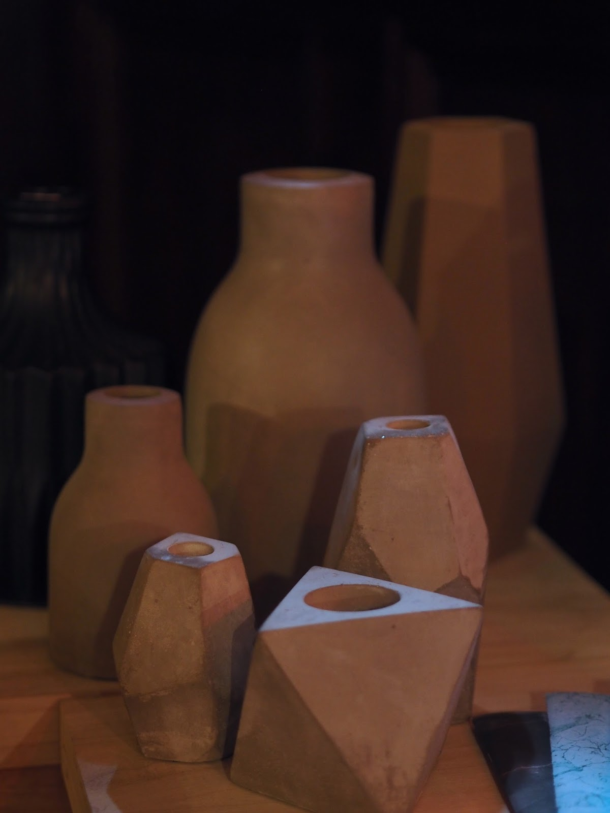 Wooden Vases from Homage