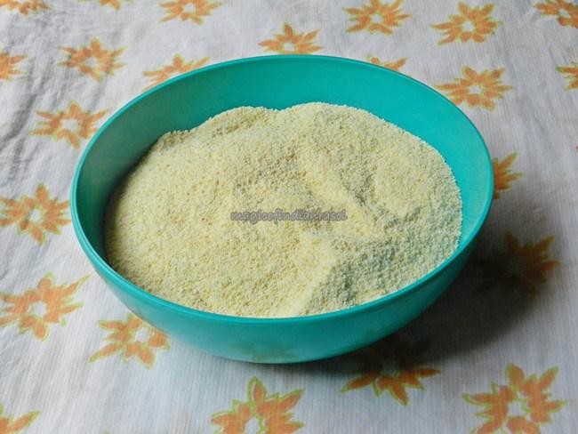 How to Make Handvo/Handva Flour At Home- Magic of Indian Rasoi - Priya R