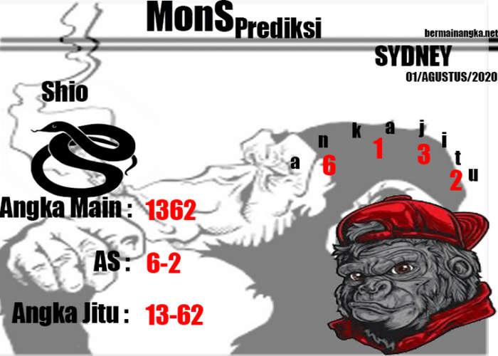 Kode syair Sydney Sabtu 1 Agustus 2020 233