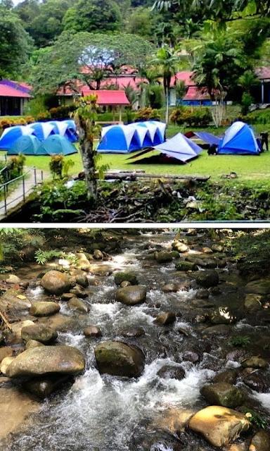 Hutan Lipur Sungai Congkak tapak perkhemahan