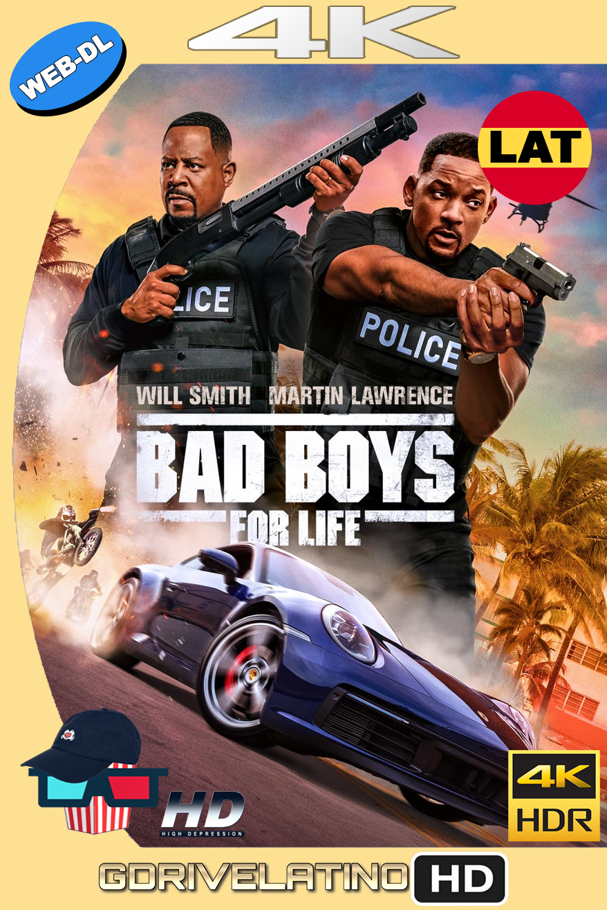 Bad Boys para Siempre (2020) WEB-DL 4K HDR Latino-Ingles MKV