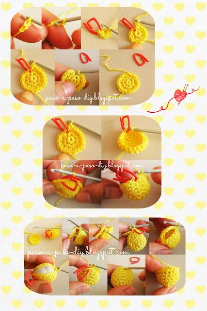 Cómo hacer cuentas tejidas al crochet