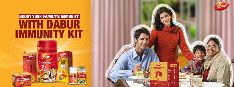Get FREE Dabur Immunity Kit at Your Home