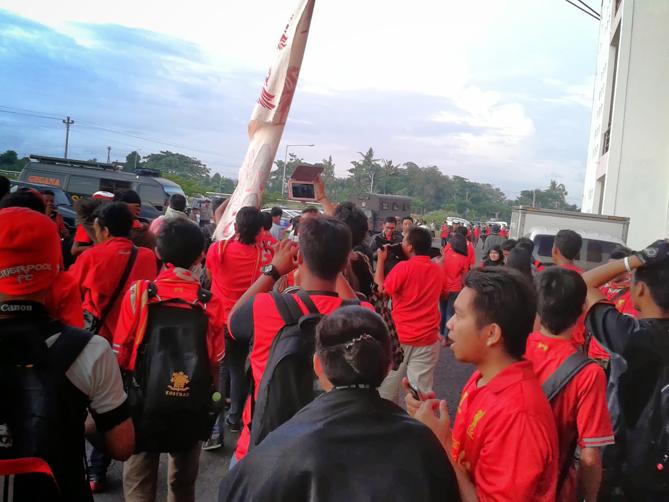 Antusias suporter Liverpool Indonesia, khususnya di Jogja