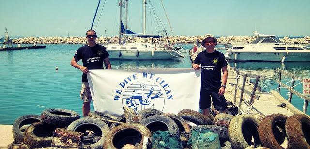 """We Dive We Clean"" : Οι εθελοντές δύτες που καθαρίζουν τον ελληνικό βυθό"