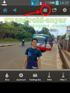 Cara Foto Fokus di Android