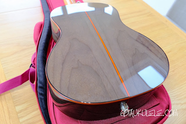 Flight Diana Soundwave Tenor Ukulele back