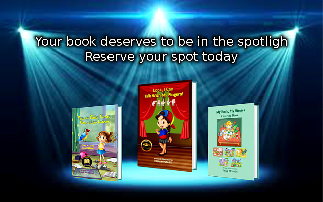 Your book deserves a spotlight