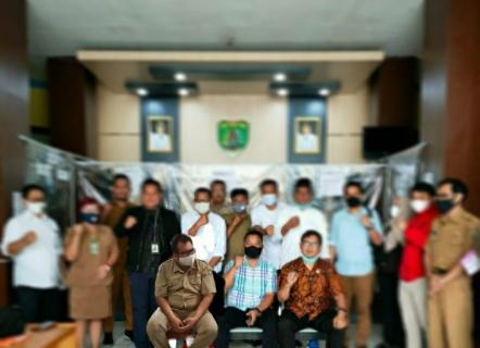 Komisi I DPRD Kutai Kartanegara Kunjungan Kerja Ke DPMPTSP Kabupaten Barito Timur