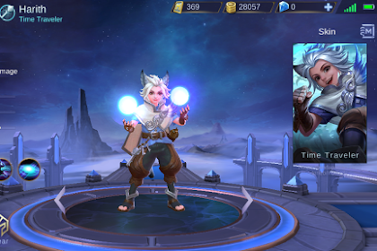 New Hero Mobile Legends Harith Sang Time Travel