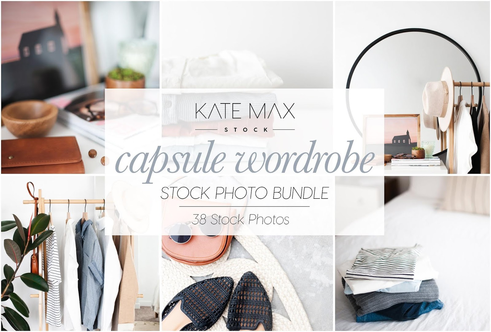 Capsule Wardrobe Mockup Bundle