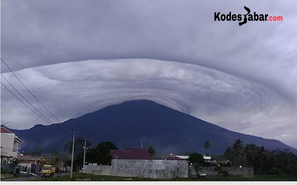 Fenomena alam Gunung Ciremai