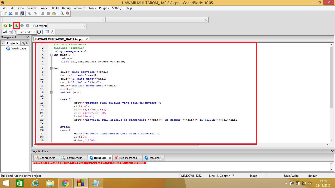 Program Konversi Mata Uang dan Suhu C++ ~ KUAS