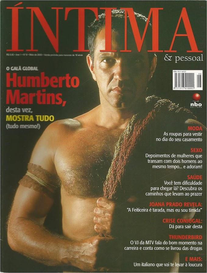 Humberto Martins na Revista Íntima
