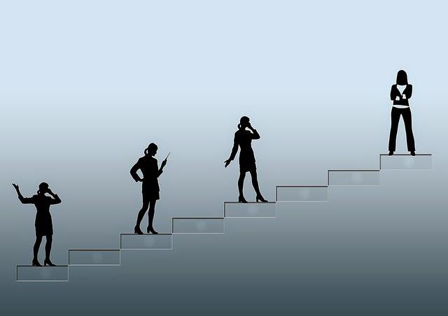 escalera al éxito