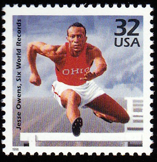 Jesse Owens US Gold Medals 1936 Olympics Track Field
