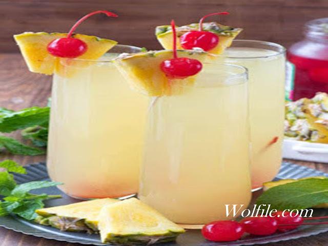 Hawaiian Mimosas Recipe #Drink