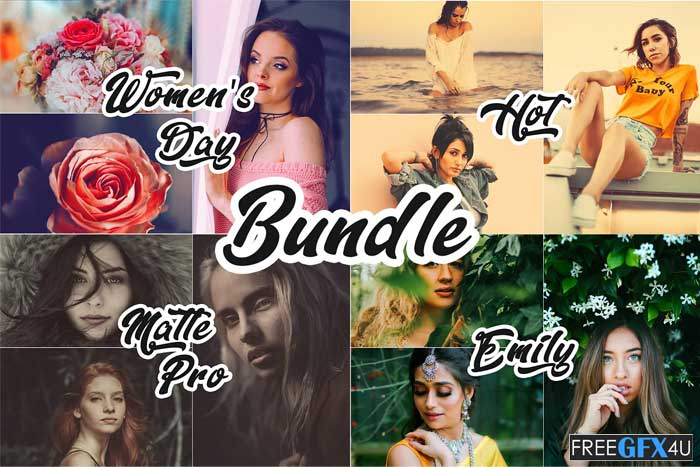 Photoshop Actions March Bundle 4 IN 1