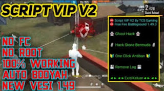 Script Cheat Vip v2.0 Free Fire