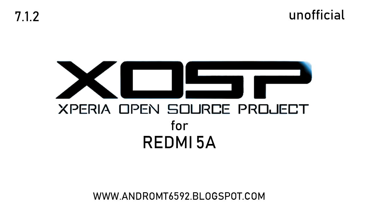 7 1 2] XOSP ROM for Redmi 5A (riva)