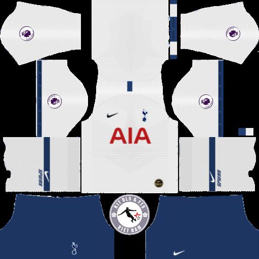 Kits Tottenham Hotspur 2019 - 2020 Dream League Soccer 2019 & First Touch Soccer