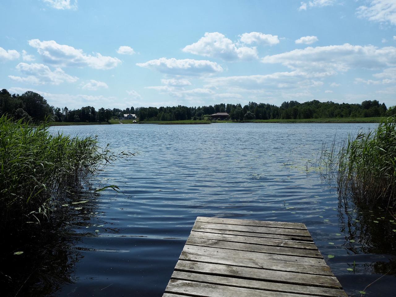 Pikeliškių dvaras Žalesos ežeras
